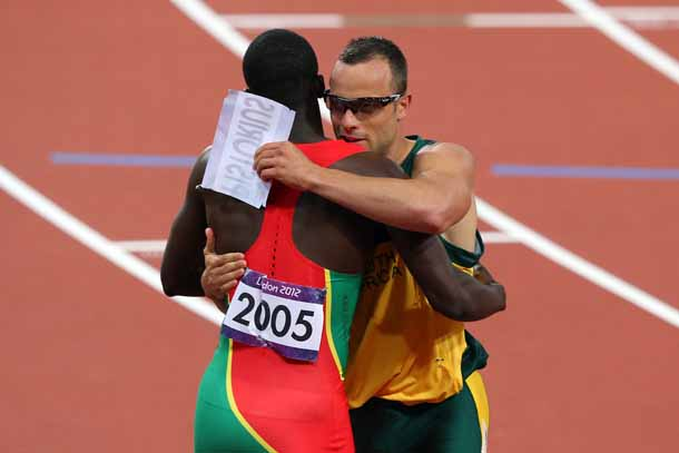 Let Male And Female  pete Together additionally American Track League Lolo Jones Olympics also Reeva Steenk together with Stepping Forward Advertising The  utee Athlete as well Sportsmanship. on oscar pistorius at the olympics