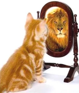 Self-Talk lion